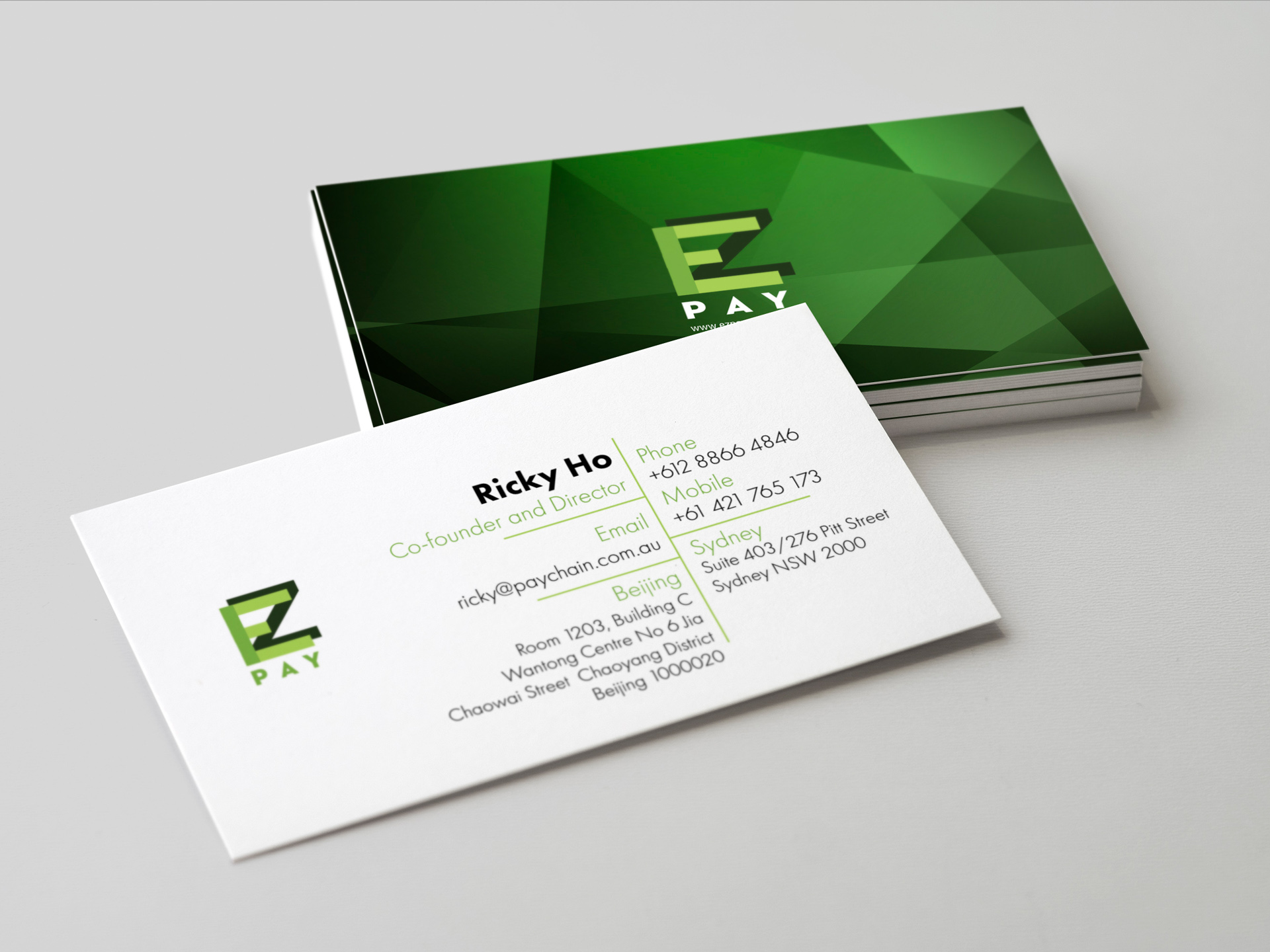 Colorful Business Card Founder Pictures - Business Card Ideas ...